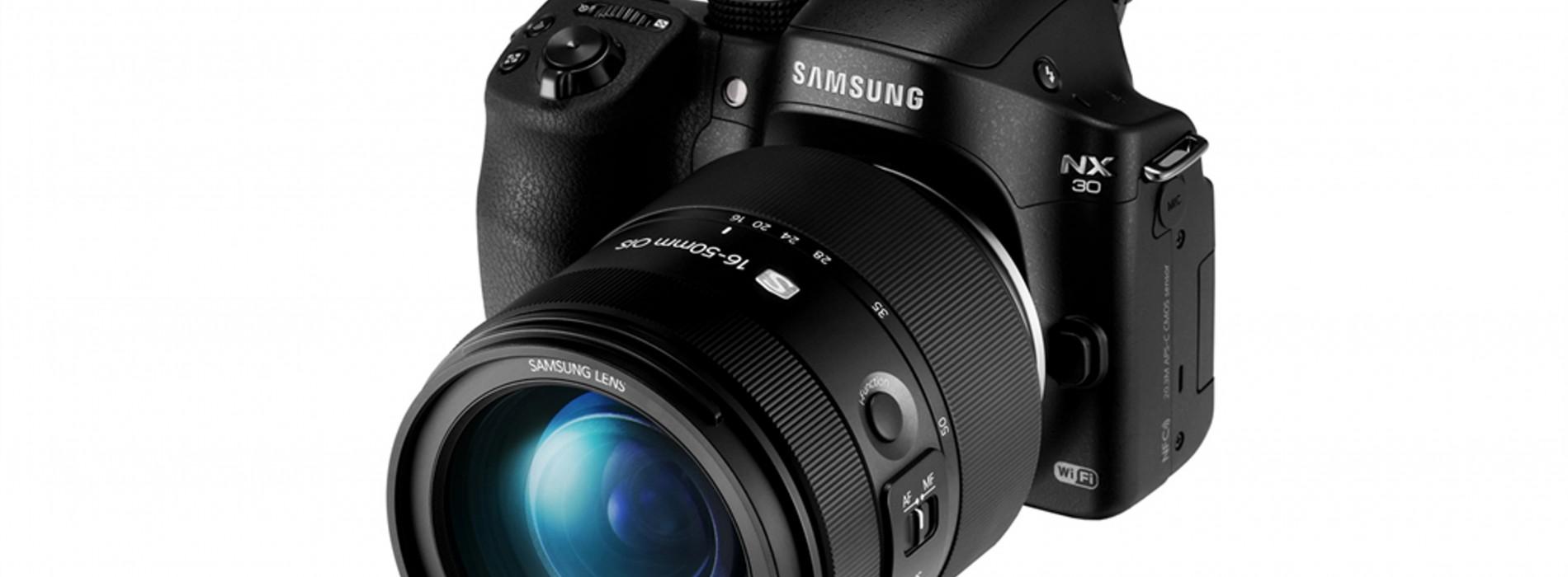 NX30 imágenes de gran calidad y desempeño veloz