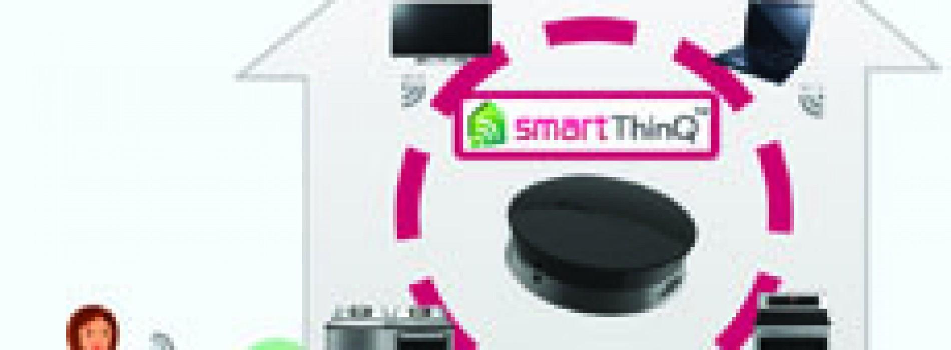 Smart ThinQ crea hogares inteligentes