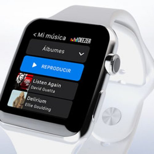 Deezer ahora para Apple Watch