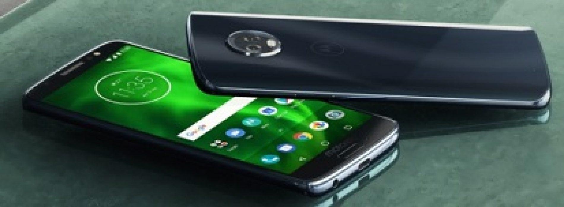 Nuevo Moto G6, diseño innovador, pantalla Max Vision e increíbles Moto Experiencias