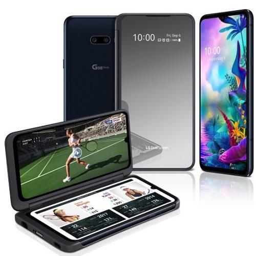 G8X ThinQ y nuevo Dual Screen mejoran multitasking móvil