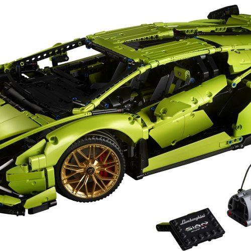 Lamborghini en piezas de LEGO
