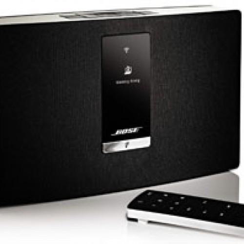 Nuevos sistemas de música Wi-Fi, altavoces Bluetooth y audífonos