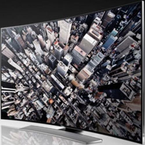TV UHD Curvo permite ver desde cualquier lugar de la habitación