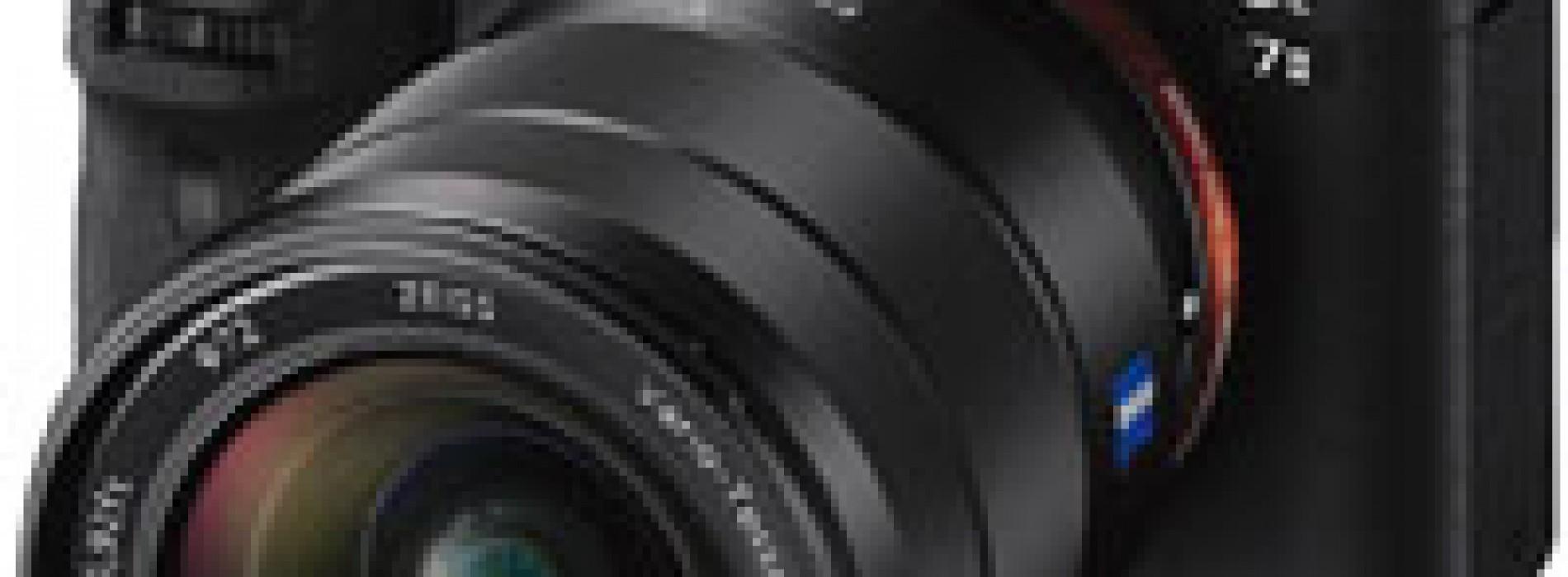 Presentan cámara de fotograma completo y estabilización óptica de imagen