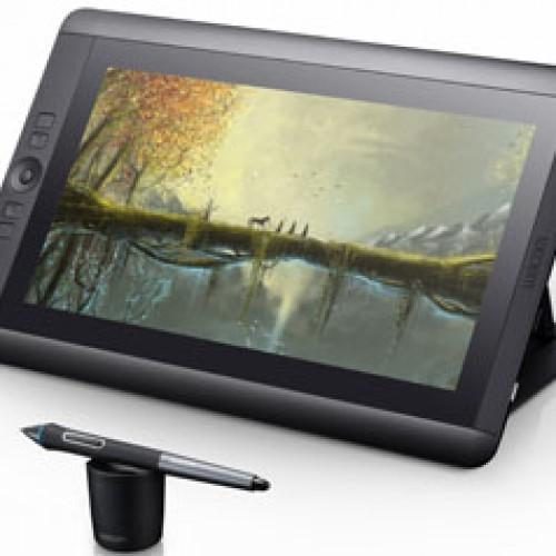 Cintiq 13HD multitáctil con lápiz digital, experiencia creativa envolvente y liberadora