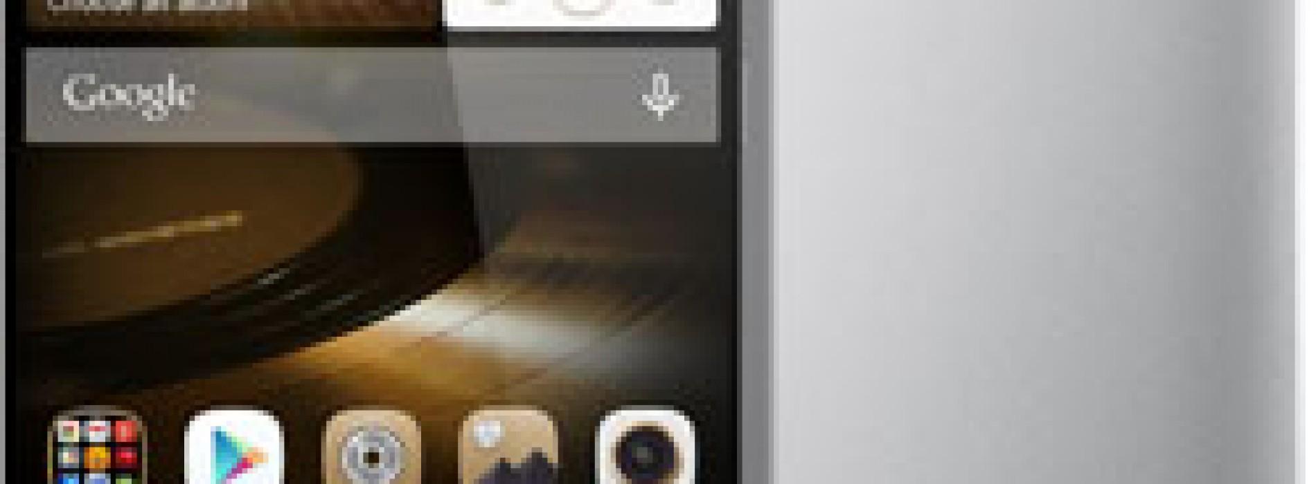 Ascend Mate7 tecnología superior de huella digital de un solo toque