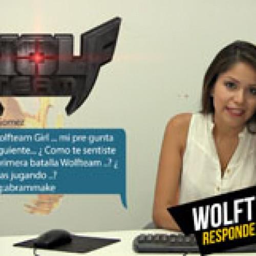 """La """"WolfTeam Girl"""" responde a tus preguntas"""