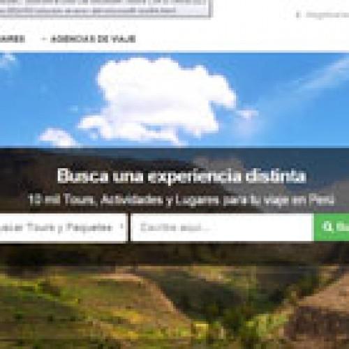 Peruanos compran paquetes turísticos a través de Internet