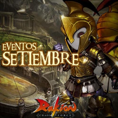 Rakion presenta nuevos eventos para septiembre