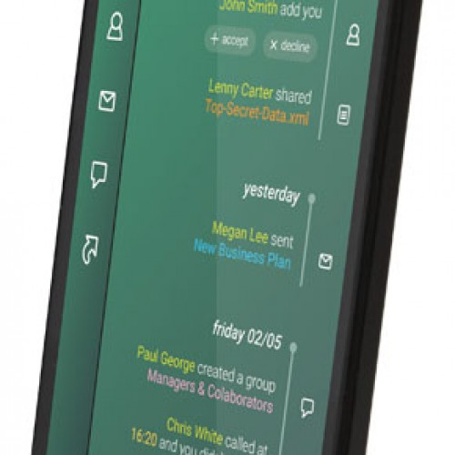 GranitePhone primer Smartphone difícil de chuponear