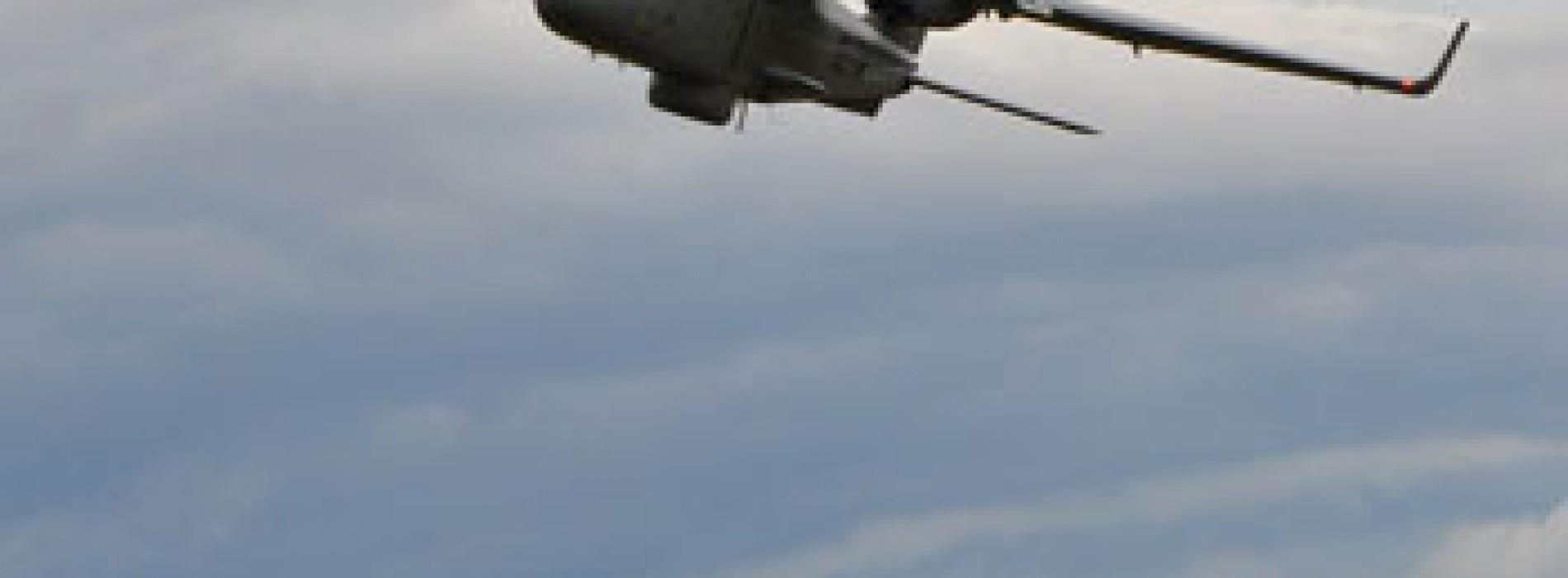 Presentan versión no tripulada de avión de vigilancia marítima