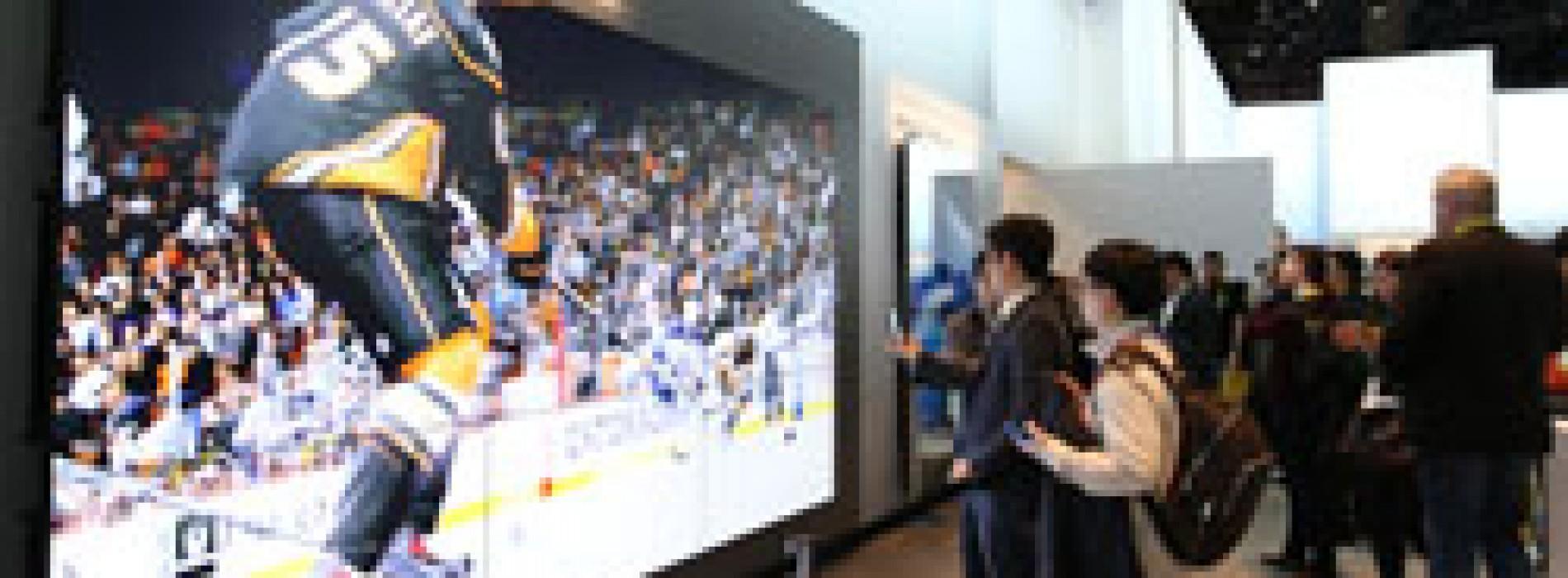 Video wall lo último en monitores y tecnologías de señalización