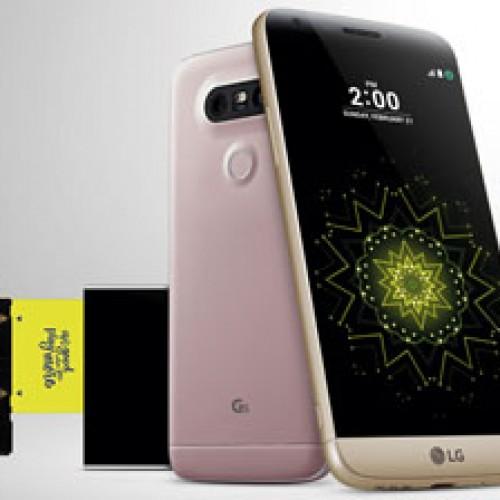 G5 primer Smartphone de piezas modulares