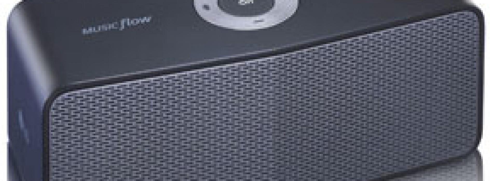 Music Flow P5, parlante inalámbrico Bluetooth, con batería recargable