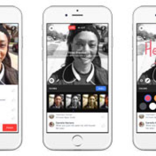 Facebook presenta nuevas formas de crear, compartir y descubrir videos Live