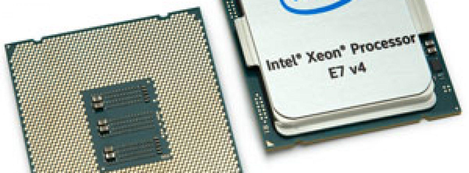 Nuevos procesadores E7 v4 acelera velocidad de datos y transforma los negocios