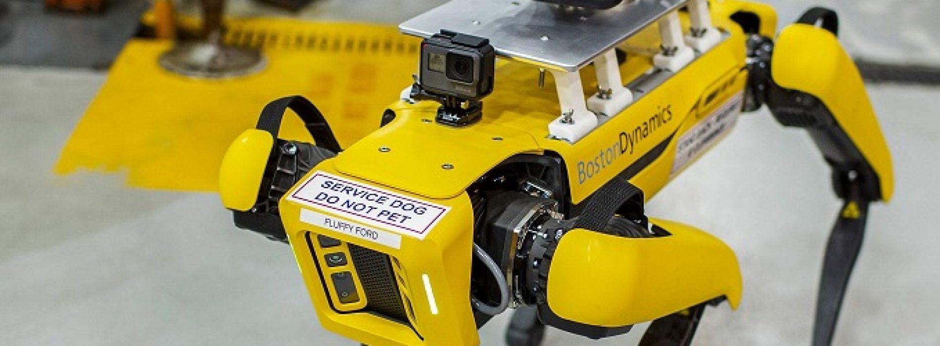 Perros robots optimizan la producción