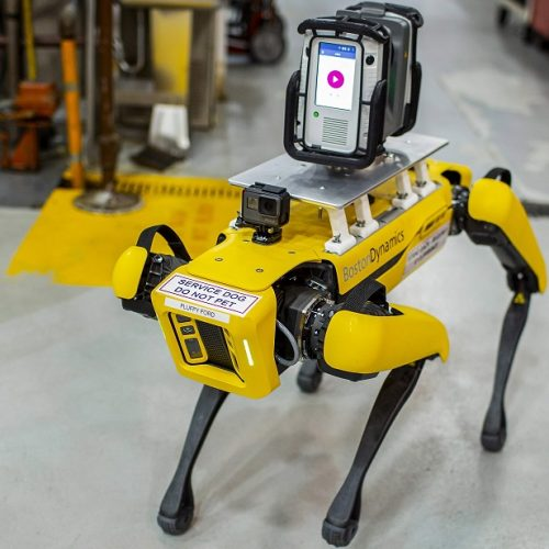 Perros robots optimizan la producción