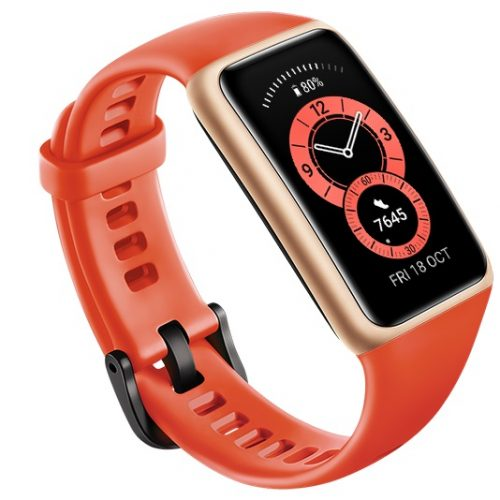 Band 6: dispositivo electrónico para controlar la salud